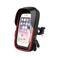 Cell Phone Mounts & Holders Waterproof Bicycle Holder Stand Motorcycle Handlebar Mount Bag Cases Universal Bike Scooter Bracket