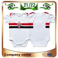 Maillots de Fútbol 21/22 Sao Paulo Baby Soccer Jersey 2021 Pablo Danlves Luciano Luan Igor Gomes BRENNER 9-18 MESES DE PIE DE NIÑOS Uniformes