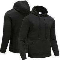Outono inverno masculino aptidão ao ar livre lazer pelúcia quente camisola moletom hoodie tracksuits 2021 designer t-shirt moda confortável