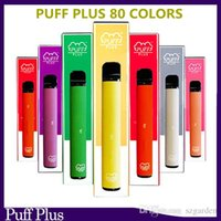 Puff bar Plus 80 Couleur Dispositif de vapon jetable Pod POD Pré-rempli Kit de démarreur 450 Batterie Vaporisateur Puff XXL Max double barre d'air Lux Bang XXL