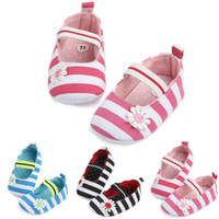 First Walkers Cute Flower Baby Infant Girl Soft Sole Crib Toddler Summer Princess Shoes For 0-18M Kids
