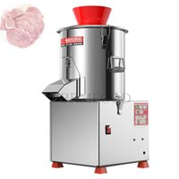 220V stainless steel Commercial Meat Grinder Machine Cabbage Cutter Chopper Electric Food Vegetable Cutting Granulator Multifunction