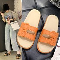 Тапочки XPay 2021 Женщины Плоские Летние Женские Пряжки Брелки Обувь Женщина Мода Повседневная Женская Пляж Слайды Solid Для