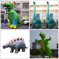 Customized outdoor games dinosaur balloon giant inflatable fireworks Tyrannosaurus Tanystropheus Stegosaurus animal model for zoo theme event ornament