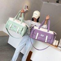 Duffel Bags Women's Travel Bag Waterproof Large Capacity Shoulder Crossbody Sports Gym Weekend Handbag Lady Outdoor Duffle Tote