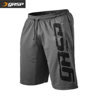 Muscle men gasp European and American large size fitness shorts men's quick drying loose sports pants one hair substitute