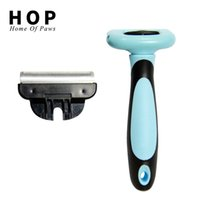Pet Hair Remover Comb for Dog Brush Grooming Cat Animal Fur Removal Deshedding Tools Detachable Clipper Attachment
