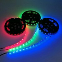 Balloon Decor Lampada 5M / Roll RGB Light 12V SMD 3528 5050 5630 300 Светодиодная полоса не водонепроницаемая лента для гибкой домашней панели