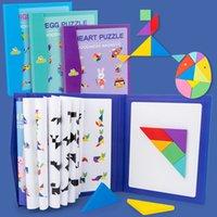 2-4 anos de idade crianças magnética quebra-cabeça livro livro brinquedos de madeira formas board crianças cedo brinquedos educativos desenvolvimento de desenvolvimento cre l0226