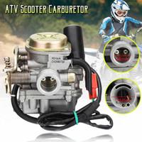 Motosiklet Yakıt Sistemi 18mm Karbüratör Emme Manifoldu Borusu 4 Strok 49cc 50cc 80cc 139QMB GY6 ROKETA Scooter ATV Sunl MOPED