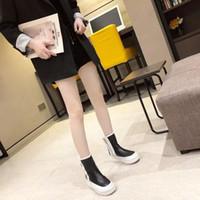 Boots One Yona 2021 Kış Kışın Listeleme Peluş Fermuar Kadınlar Sıcak Karışık Renkler Düşük Topuklu Düz Tutun