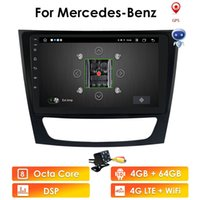 HD 1024*600 Touch Screen Car NODVD Player for mercedes w211 Android 10 multimedia W209 W219 4G WIFI Radio Stereo GPS DVR DTV DAB