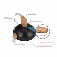 القابلة لإعادة الشحن السمع مكبرات الصوت مكبر للصوت الصوت وراء الأذن الاتحاد الأوروبي التوصيل لفقدان السمع المسنين الصم الأذن carescou