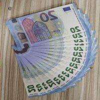 20 евро Самые реалистичные Prop NightClub Бумага Копировать фильм Играть деньги 23 Бизнес Поддельные заметки для коллекции Банк LXOFO