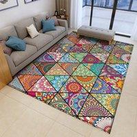 Tappeti Bohemian Mandala stile floreale moquette tappeto lungo antiscivolo tappetino da pavimento soggiorno bagno cucina cucina tagliente tagliente