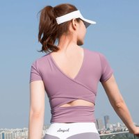 2020 new back fitness top fashion sexy yoga clothes women...