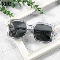 Солнцезащитные очки 2021 Ретро квадратные очки очки дамы высококачественный бренд градиент