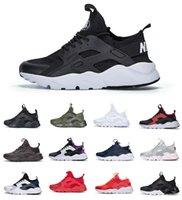 2021 Huarache الاحذية 4.0 1.0 الرجال النساء الأحذية الثلاثي الأبيض أسود أحمر رمادي huaraches رجل المدربين جودة عالية الرياضة رياضية المشي الركض