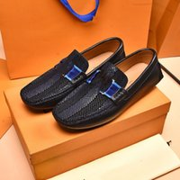 2022 Newest Formal Office Wedding Shoes for Men Crocodile Embossed Leather Dress Shoes Plus Size 38-46