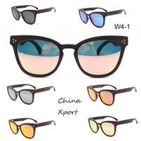 Gran marco marco de madera fino gafas de sol protección ocular protección unisex gafas de sol vintage bonito elegante de alta calidad con gafas cómodas