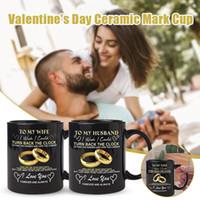 A mio marito / moglie vorrei poter tornare indietro il tazza d'orologio per coppie di matrimonio anniversario compleanno tazza di caffè 12 once TB SA