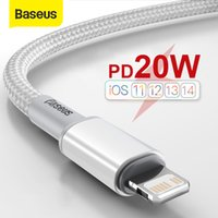 BASEUS 20W USB C 케이블 전화 12 11 PRO MAX XR 8 PD 패드 프로 타입 C 케이블 용 휴대 전화 충전기 케이블에 대한 빠른 충전