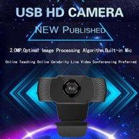 HD 720p 1080p Webcam Micrófono incorporado Micrófono USB Spring Cable Cámara web gratuita para suministros de computadoras de cariño de oficina