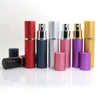 기존 휴대용 퍼퓸 병, 금속 쉘, 유리 라이너로 나누어 10ml 향수 스프레이 병