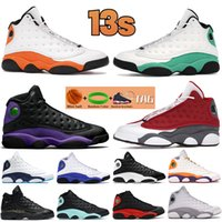 2021 13 13s Zapatos de baloncesto para hombre Pierna roja Portada negra Púrpura Obsidiana Lucky Verde Starfish Reverse He Game Women Sneakers Men Trainers