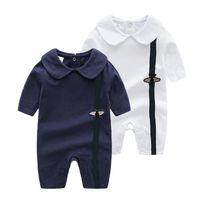 fashion Designer children Toddler Romper clothes Infant Baby Boy Girl Unisex Jumpsuit Casual Onesies Sleepsuit One Piece Outfits Jumpsuit Bodysuits