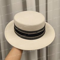 Woolcap مصمم المرأة دلو قبعة بلون كبير بريم قبعة مجهزة المصممين قبعات القبعات رجل casquette الشتاء الخريف المأوى بونيه بيني