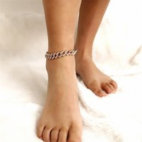 ingemark 보헤미안 탄성 스트레치 Anklets 여성 크리스탈 골드 컬러 맨발 샌들 발목 체인 비치 발 보석 선물 198 U2