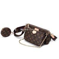 Klasik Marka Kadınlar Lüks Tasarımcılar Crossbody Çanta Çok Pochette Aksesuarları Bayan Tasarımcı Çanta + Cüzdan + Çanta Omuz Alışveriş Tote Çanta
