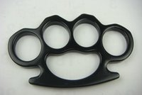 Gear Thick and heavy Thickness steel Brass Knuckles Fighting Knuckle Duster Powerful Self Defense Mens Self-Defense tool drop-shipping