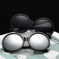 Güneş Gözlüğü Klasik Kadınlar Retro Yuvarlak Çerçeve Renk Moda Erkekler Ve Womne Gözlük Oloey Sürüş UV400 óculos