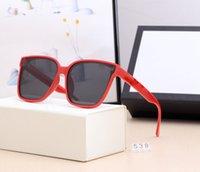 Hot New Cuadrado Aluminio Magnesio Gafas de sol Moda Deporte Mujeres Shades Sombras Polarizadas de Hombres Gafas de sol Ruñón Espejo Vidrios Masculinos 538