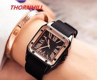 high quality fashion watch luxury young mens and womens square dial designer silicone quartz wristwatch for Men Women Girl style metal steel band Watches