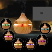 Humidifier Home Silent Bedroom Small Aromatherapy Spray Beauty Salon Wood Grain Aromatherapy Machine Essential Oil Night Lamp Plug In
