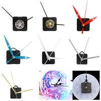 ساعات الحائط 1 مجموعة ألوان متعددة اختيار ساعة حركة سيليكون العفن الملحقات آلية إصلاح أجزاء سوداء الأيدي استبدال كيت