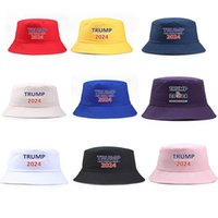 ABD Stok Trump 2024 Şapka Kova Sun Cap ABD Başkanlık Seçim Balıkçı Şapka Seçimler Beyzbol Kapaklar