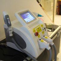 Çok fonksiyonlu Profesyonel Güzellik Makinesi IPL SHR Lazer ND YAG Kalıcı Saç Sökücü SHR IPL Saç Azaltma + Q Anahtarı Lazer Dövme Kaldırma