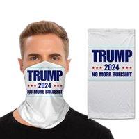 Unisex Trump 2024 Magic Scarf 3D Turban Face Mask Neck Gaiter Windproof Masks Dust Outdoor Balaclava Bandana 10 Styles For Adult