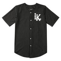 07 Últimas Reis Baseball Camisetas Tyga Jerseys Preto Branco Unsex Homens Mulheres Hip Hop Baseball Jersey Tops Rap Rock T-shirts Y200824