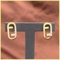 2021 orecchini da donna orecchini oro collane lettera f set di gioielli lussurys designer orecchini designer mens collane ornamenti orecchini 21090305R