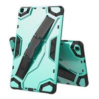 Hybrid Heavy Whysproof Armor Tablet Case for Samsung Galaxy Tab A 10.1 Inch T580 S3 T820 A 10.5 T590 T595 غطاء حامل خفية