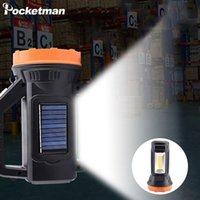250 W LED Çalışma Işık Taşınabilir USB Şarj Edilebilir El İş Lambası Yan Işık Spot Işık Ile Su Geçirmez
