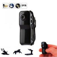 Videocámara deportiva MD80 Mini Cámara Voice DV grabadora de video Micro Cam para al aire libre Senderismo Casco CAMARAS PORTABLES ESPIA