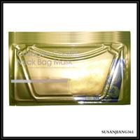 EPACK 뜨거운 판매 골드 필름 깊은 물 콜라겐 크리스탈 목 마스크 패치 모이스춰 넥 마스크 스킨 케어 마스크 Epacket