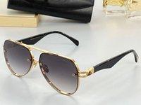 The Tel I New Men Glasses Car Moda Occhiali da sole Top Outdoor UV400 Occhiali da sole Occhiali da sole Selezione ovale Selezione di frame in metallo di prima classe da inviare in scatola