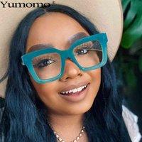 Designer Sunglasses 2021 Vintage Square Optical Glasses Women Men Fashion Clear Eyeglasses Frame Transparent Lens Spectacle Unisex